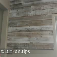 Whitewashing Stained Wood Diy White Washed Pallet Wall Pallets And Walls