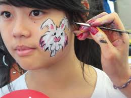 Small Picture Bunny Face Paint The Story Of Makeup Inspiration With Es