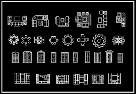 Interior Design 2D Blocks-CAD Library | AutoCAD Blocks | AutoCAD Symbols