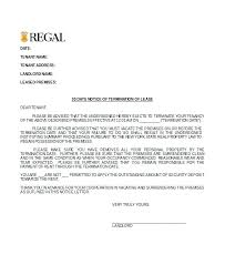 Contract Termination Notice Letter To Terminate A Contract ...