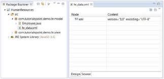 Eclipse Create Xml File