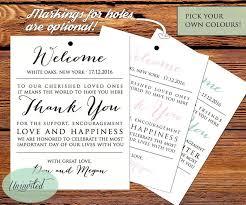 wedding tag printable wedding tags welcome bags wedding welcome