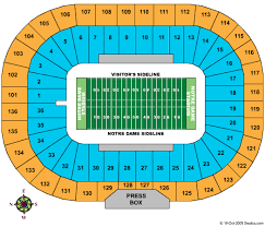 All Inclusive Notre Dame Football Stadium Seating Chart