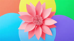 Paper Flower Video Abstract Background With Paper Flowers Stock Footage Video 100 Royalty Free 1027694678 Shutterstock
