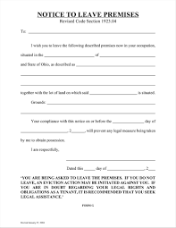 Eviction Notices Template Copy Of An Eviction Notice Venturecapitalupdate 84