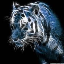 Abstract Tiger Ultra HD Desktop ...