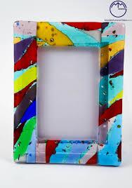 porta foto in vetro di murano art 408