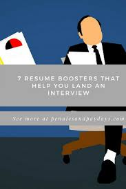 Resume Boosters Resume Boosters You Need To Know About The Job Market Is More 14