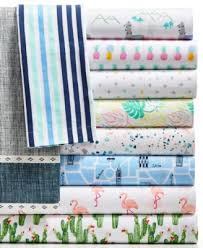 full sheet martha stewart collection closeout novelty print cotton percale