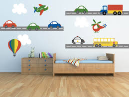 truck wall decal plane cool wall sticker not sticking nursery wall