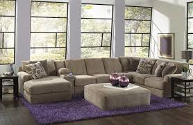 Tufted Living Room Furniture Living Room The Latest Chic Button Tufted Leather Sectional Sofa