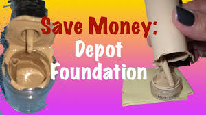 save money how to depot foundation bottles