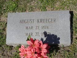 August Krueger (1874-1947) - Find A Grave Memorial