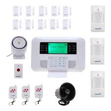 fortress wireless home security alarm system cellular auto dial system
