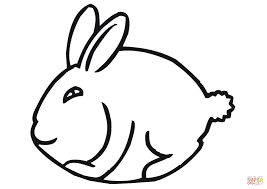 Funny Easter Bunny Coloring Page Free Printable Coloring Pages