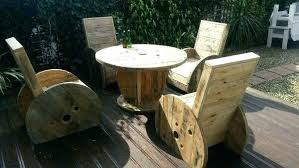 wooden spool chair wooden spool chair spool chairs and table made from materials wooden spool chair