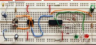 Light Sensor Using Ic 741 Simple Light Sensor Using 741 Op Amp Rookie Electronics