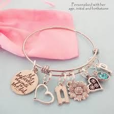My <b>Little Girl</b> Personalised Engraved Pink Charm Bracelet <b>Girls</b> ...