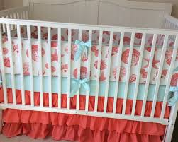 Ruffled Beach Girl Crib Bedding Set by butterbeansboutique on Etsy  https://www.
