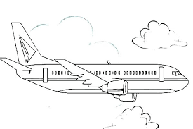 Wright Brothers Airplane Coloring Pages Of Planes Free Printable