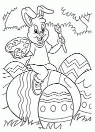 Small Picture Easter Egg Chick Easter Coloring Pages For Kids coloring page