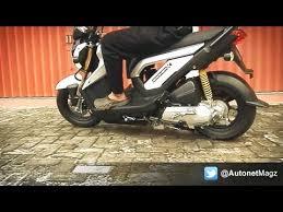 2018 honda zoomer x. wonderful 2018 honda zoomerx indonesia review u0026 test ride to 2018 honda zoomer x
