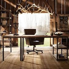 home office furniture indianapolis industrial furniture. Rustic Home Office Furniture Palmer Return Desk In Oak Arhaus Industrial Best Set Indianapolis