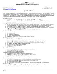 Sap Bi Developer Sample Resume Waitress Description For Resume