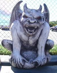 new large gargoyle statue garden ornament