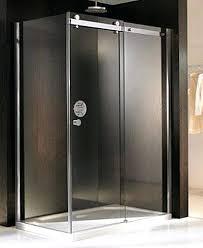 sliding frameless shower door sliding shower doors kinetic design prime line frameless sliding shower door roller