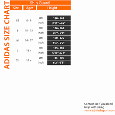 Adidas F50 Pro Lite Shin Guard Size Chart Adidas Shin Guard Size Chart Www Bedowntowndaytona Com