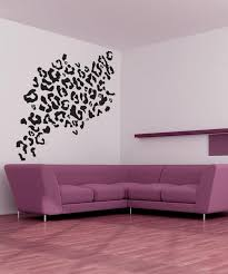 vinyl wall decal sticker leopard print