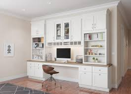 home office cabinetry. Midtown Cream Shaker. Office Cabinetry Home Office Cabinetry