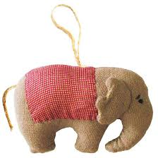 Elephant Ornament - Thai Village