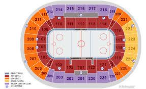 Moda Center Seating Chart Hockey Portland Trail Blazers Seating Chart Www Bedowntowndaytona Com