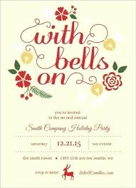 Corporate Holiday Invitation Beautiful Business Party