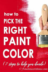 great ideas for choosing the right paint colors for your home i love how easy