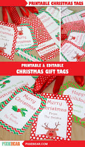 You can download and print the following seven christmas gift tag sheets using adobe. Christmas Gift Tags Printable Christmas Labels Personalized Christmas Tags For Kids Editable Holiday Tags Template Xmas To From Tags By Pixiebear Catch My Party