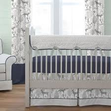 elephant crib skirt gray elephant bedding blue and grey nursery bedding elephant bedding for girls