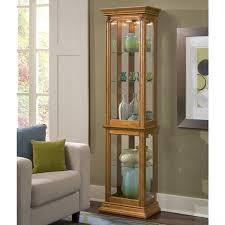 pulaski curio cabinet. Beautiful Cabinet Pulaski Curios Display Cabinet In Estate Oak Throughout Curio I