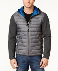 Michael Kors Men's Packable Hooded Quilted Jacket - Coats ... & Michael Kors Men's Packable Hooded Quilted Jacket Adamdwight.com
