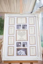 Wedding Seating Chart Frame How To Use Picture Frames To Make Wedding Planning Easier