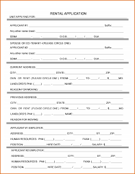 rent application form doc rental application microsoft word military bralicious co