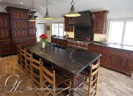 teak butcher block countertop in old forge pennsylvania