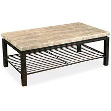 Iron And Stone Coffee Table Meadowcraft Wrought Iron Dining Table With Travertine Stone Top