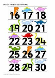 Hundreds Pocket Chart Replacement Cards Number Flash Cards Primary Teaching Resources Printables