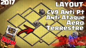 Layout Cv9 Anti Pt Com Torre Bomba Guerra Caba O De Pt