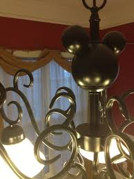 Mickey Mouse Chandelier Light Travel That La Kid