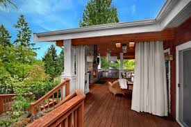 outdoor curtains outdoor rooms