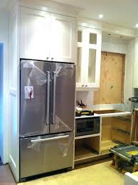 cabinet fridge cabinet size refrigerators